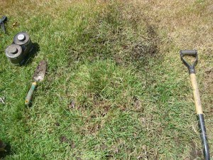 sprinkler rotor repair complete