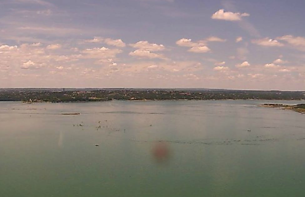 Lake Travis today!